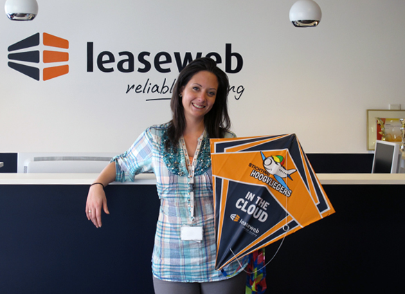 One of the Leaseweb kites