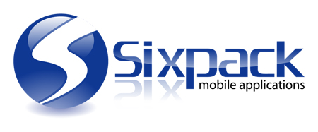 Sixpack Mobile Applications Logo