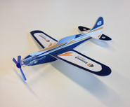 The Leaseweb Extra 330LT miniature airplane
